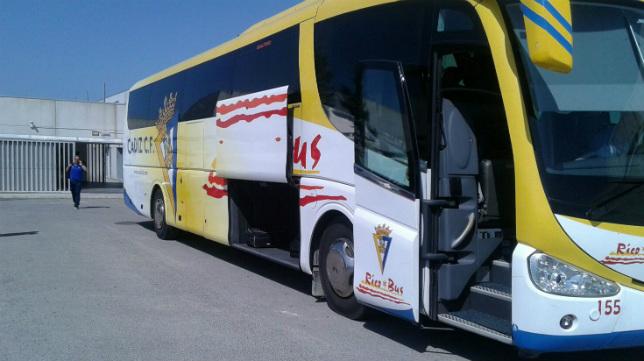 El Cádiz CF salió el pasado viernes hacia Lugo.
