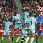 El Numancia viene de ganar en Liga y en Copa al Sporting de Gijón.