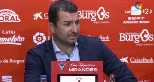 Diego Martínez, entrenador del Osasuna.