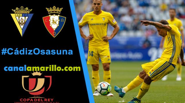 Cádiz CF - Osasuna, en juego llegar a otra ronda de Copa