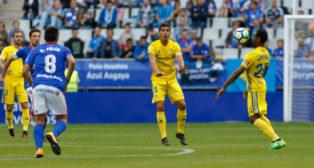 El Cádiz CF fue inferior al Real Oviedo en el Carlos Tartiere.