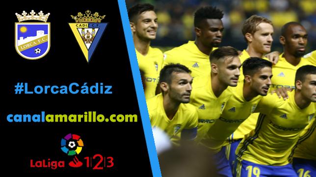 El Cádiz quiere reencontrarse con la victoria en Lorca