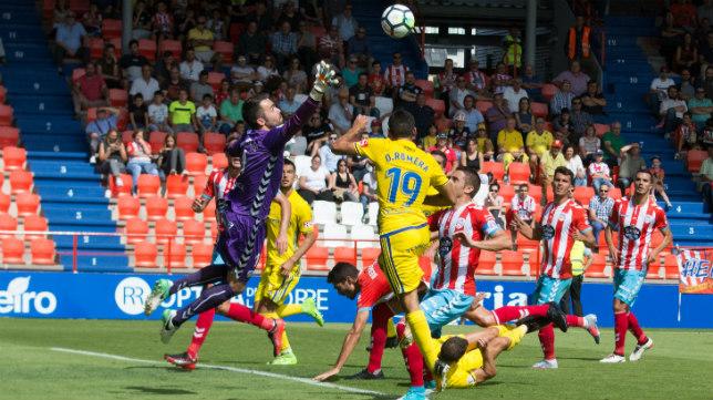El Cádiz CF ganó esta temporada en Lugo.