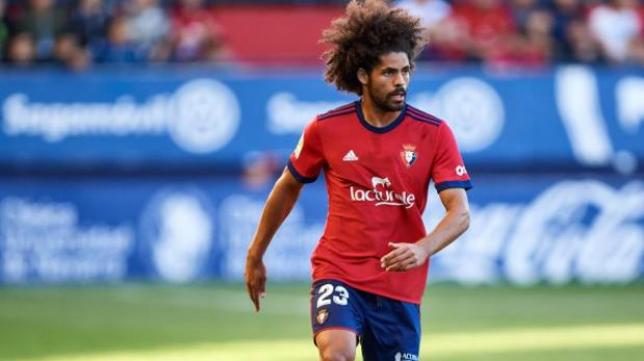 Aridane, en las filas de Osasuna.