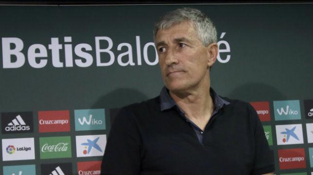 Quique Setién, actual entrenador del Real Betis.