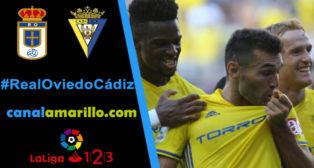 El Cádiz quiere mantener el liderato en Oviedo
