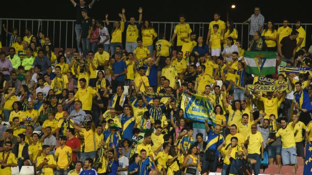 El Cádiz CF estará arropado por su afición.