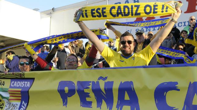 El cadismo ya estuvo en El Alcoraz la temporada pasada.
