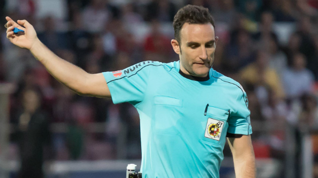 El Cádiz CF ha ganado todos los encuentros en los que el árbitro ha sido Arcediano Monescillo.