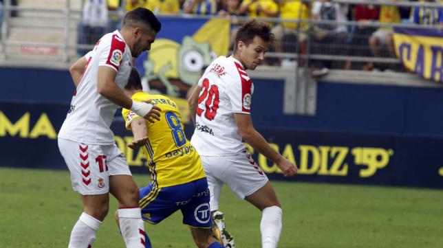 El Cádiz CF dejó escapar la victoria la semana pasada.