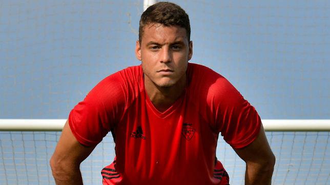 Tano, jugador del Osasuna.