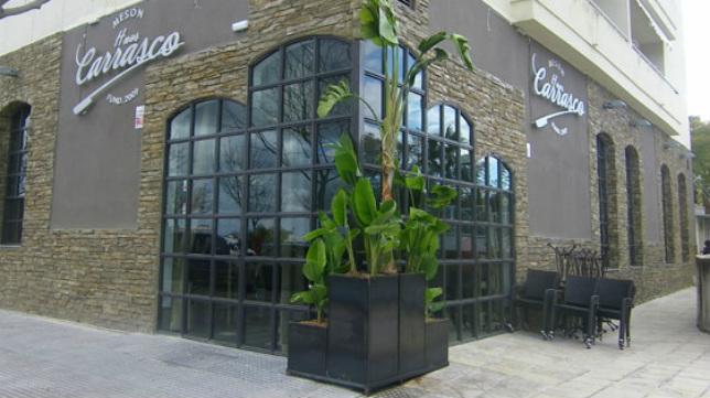 Exterior del restaurante elegido por el Cádiz CF para el almuerzo.