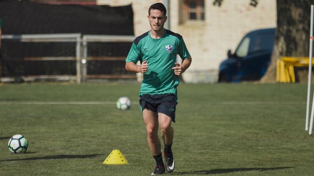 El Huesca ya prepara la cita ante el Cádiz CF. Foto: SD Huesca.