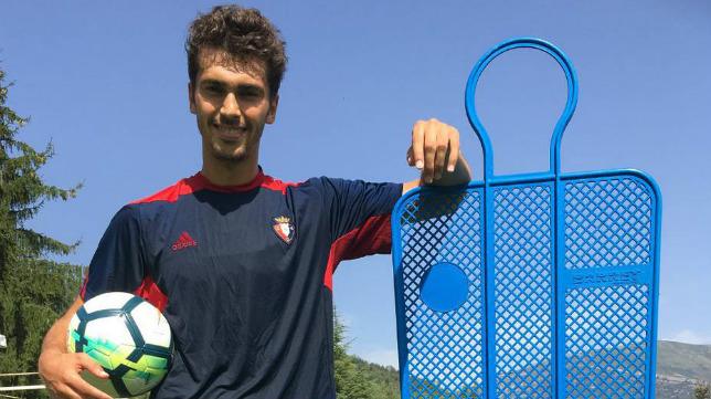 Lucas Torró, jugador del Osasuna.