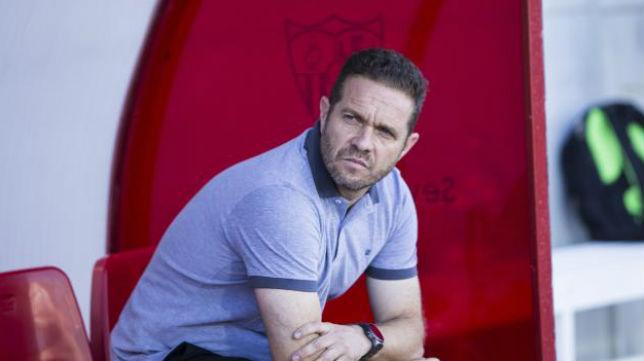 Luis García Tevenet, entrenador del Sevilla FC.