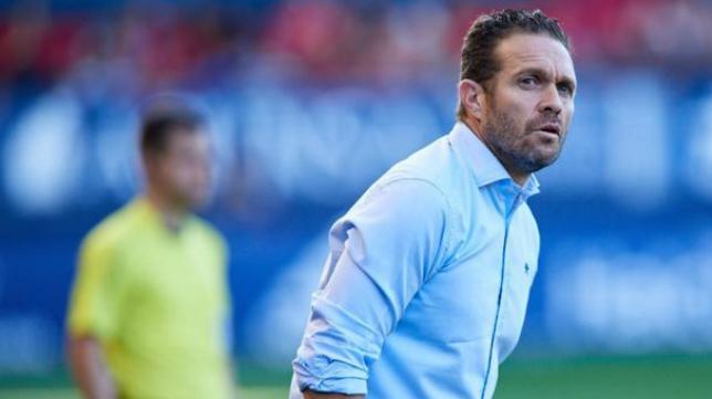 Luis García Tevenet, entrenador del Sevilla Atlético.