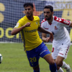 Nico Hidalgo vuelve a la convocatoria del Cádiz CF.