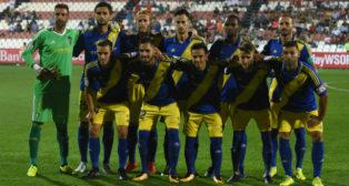 Once del Cádiz CF ante el Sevilla Atlético.