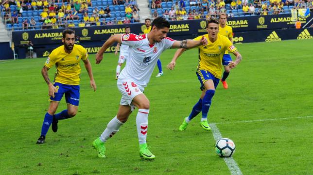 El Cádiz CF no pudo ganar a la Cultural Leonesa en el Ramón de Carranza.