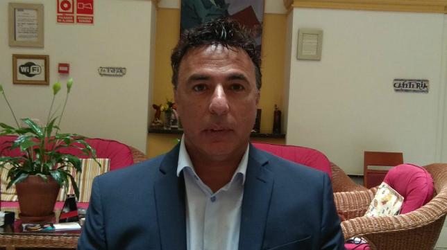 Quique Pina, consejero delegado del Cádiz CF.