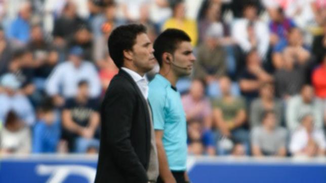 Rubi, entrenador del Huesca.