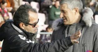 Setién y Cervera ya se enfrentaron cuando entrenaban a Lugo y Tenerife, respectivamente.