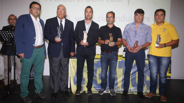 La peña cadista Cuatro Gatos repartió sus ya tradicionales premios.