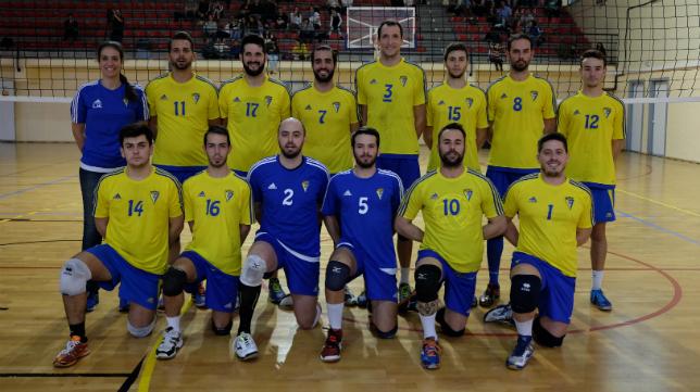 Equipo sénior masculino del Cádiz CF 2012.