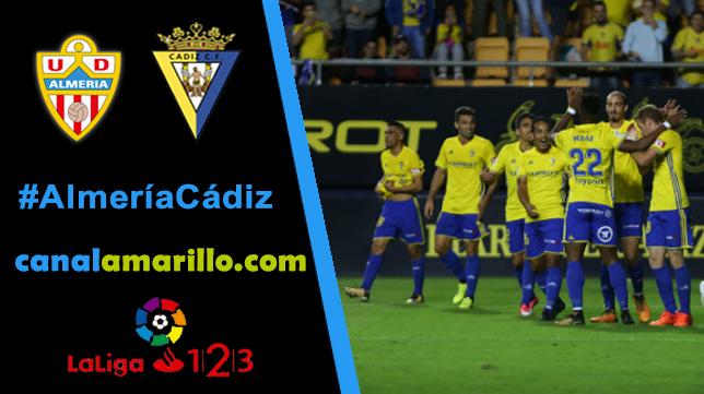 El Cádiz CF quiere romper su mala racha en Almería