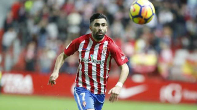 Michael Santos podría perderse la cita ante el Cádiz CF.