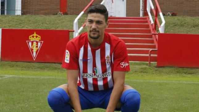Federico Barba, defensa central del Sporting.