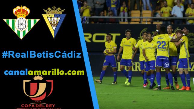 El Cádiz CF quiere dar la sorpresa en el Villamarín