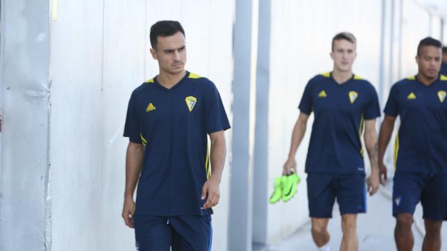 Álvaro García no podrá jugar este sábado.