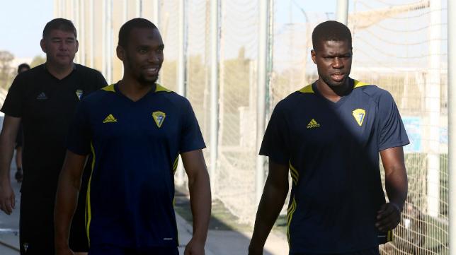 Abdullah y Sankaré ya no están en el Cádiz CF.
