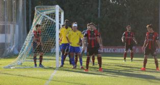 El Cádiz CF B seguirá líder una semana más.