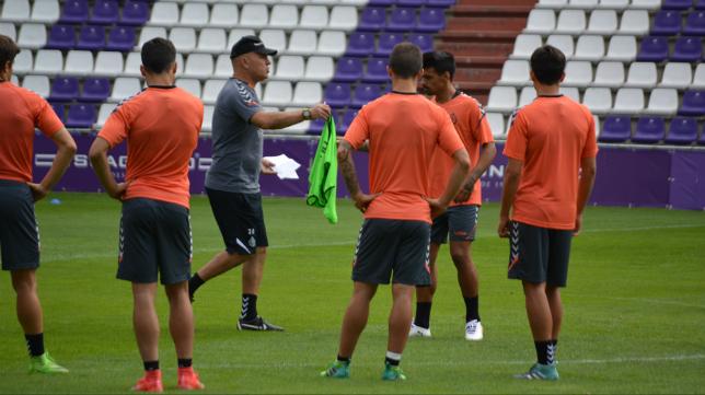 El Valladolid prepara su próxima cita en Cádiz. Foto: Real Valladolid.