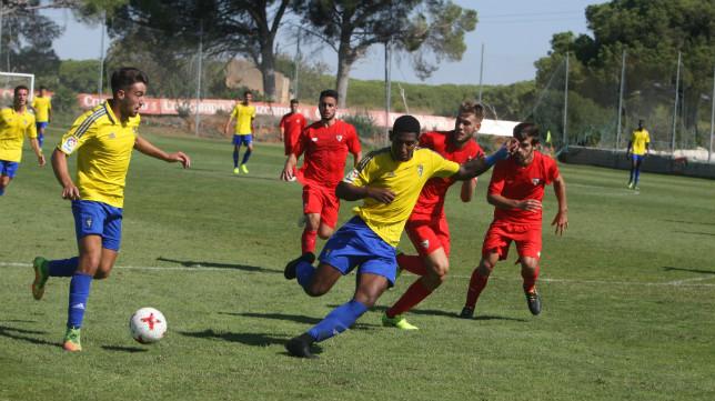 El Cádiz CF B afronta una nueva cita este fin de semana.
