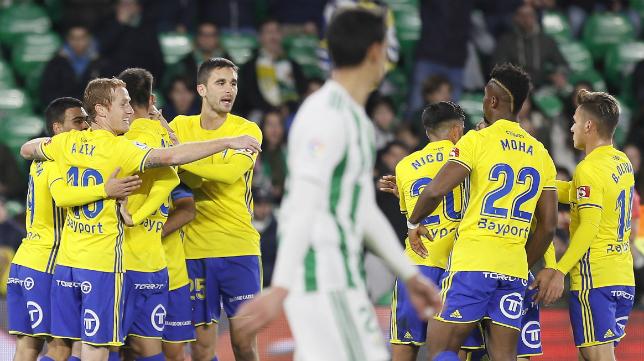 El Cádiz CF pasa a octavos de final de la Copa del Rey.