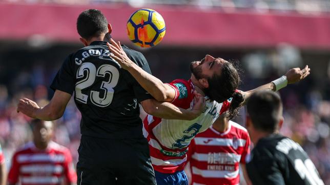 Chico Flores milita desde esta temporada en el Granada CF.