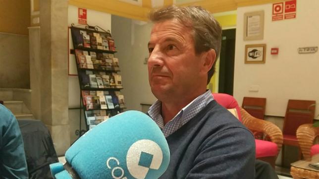 Jose Gonzalez, en los micrófonos de 'Deportes Cope Cádiz'.