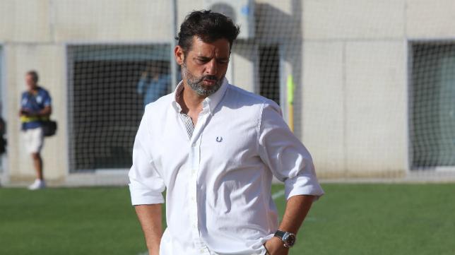 Mere, ex entrenador del Cádiz CF B.