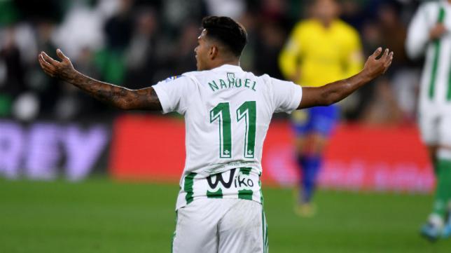 Nahuel durante su etapa en el Real Betis.