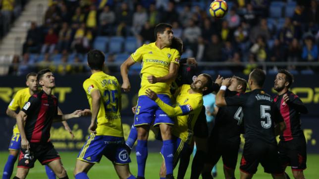 Garrido jugó los 90 minutos ante el Reus.