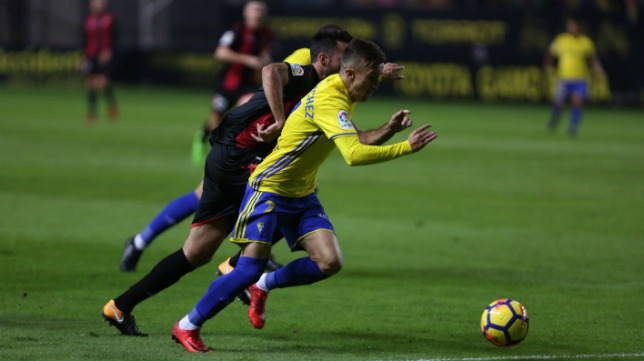 Salvi fue titular ante el Reus en la primera vuelta de la competición.