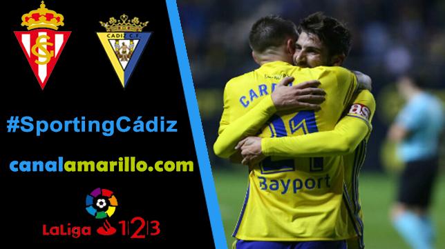 Otra victoria más, la tercera seguida, busca el Cádiz en Gijón