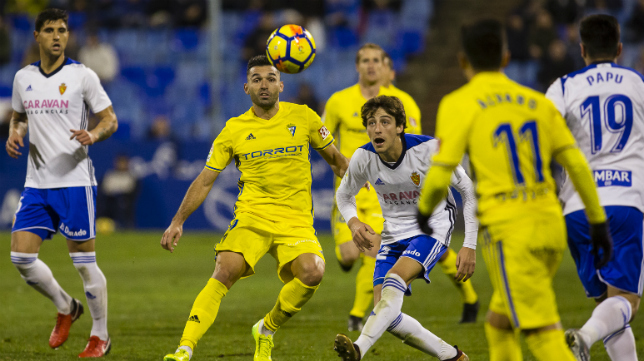 David Barral ante el Zaragoza