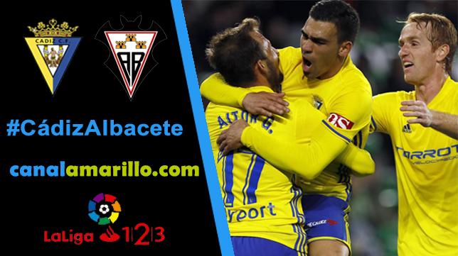 El Cádiz CF quiere seguir su buena racha ante el Albacete