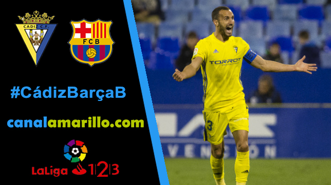 El Cádiz CF busca la séptima victoria seguida ante el filial del Barcelona