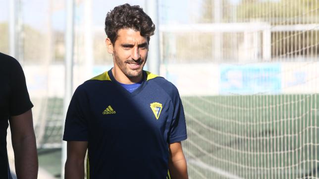 Javier Carpio ha entrenado con el grupo.