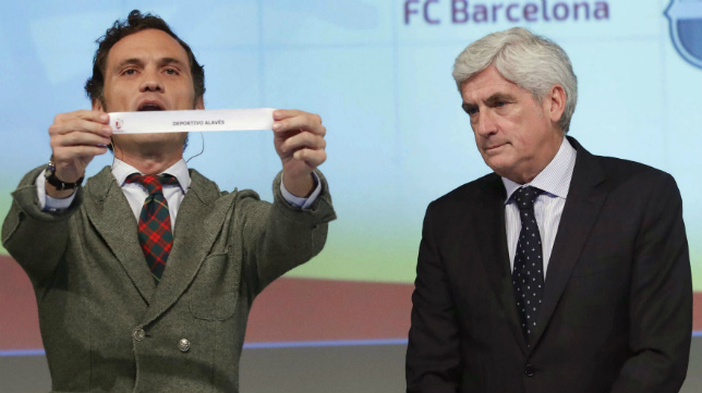 El sorteo de la Copa se celebra mañana a la una en Madrid.